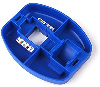 Punch Down Installation Palm Tool for Modular Jacks, Blue