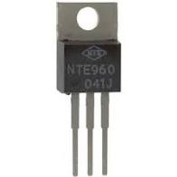 Linear Voltage Regulator, Fixed, 10V to 35V input, 5V/1A out, TO-220-3