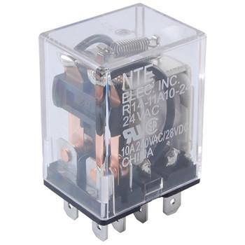 12VDC 10Amp DPDT Plug-In/Solder Terminals