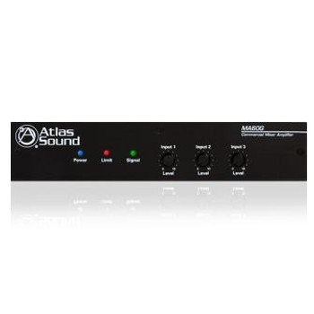 Atlas Sound MA60G 3-Input, 60-Watt Mixer Amplifier