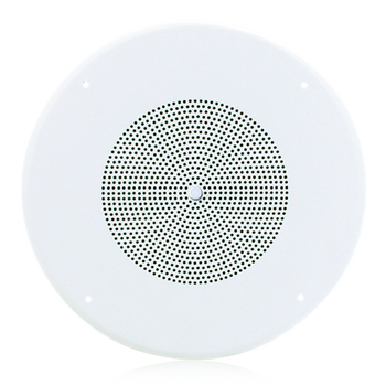 "Atlas Sound SD72WV 8"" 5-Watt Dual Cone In-Ceiling Speaker 25V/70V with Volume Control"