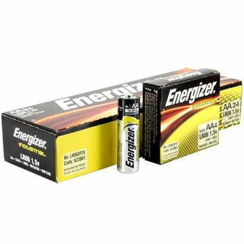 Energizer EN91 Industrial AA Batteries, Box of 24