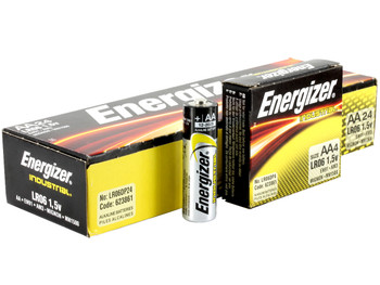 Energizer EN92 Industrial AAA Batteries, Box of 24