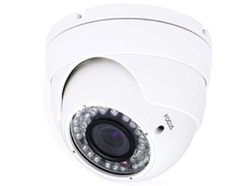 2.4MP 4-in-1 HD IR Dome Camera, TVI/AHD/CVI/960H, 3.6mm Lens