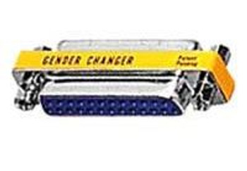 25-Pin Low Profile Gender Changer - Male/Male