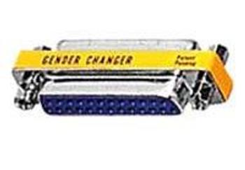 25-Pin Low Profile Gender Changer - Male/Male