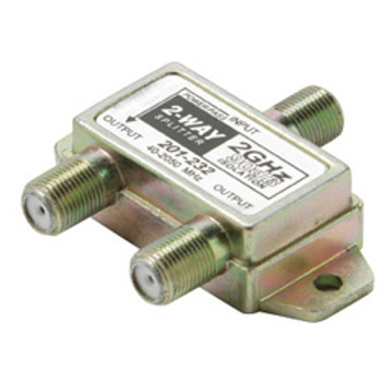 2.4GHZ Satellite Splitter 2 Way DC Power Passing To 1 Port
