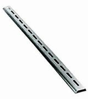 Prepunched DIN Mounting Rail, Aluminum 1 Meter, 7.5mm, 35mm
