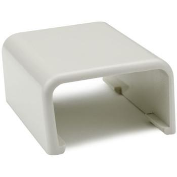 """Splice Cover, 1-1/4"""", PVC, Office White"""