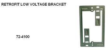 Retrofit Low Voltage Bracket