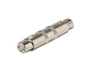 Female XLR Jack to Female XLR Jack Adapter