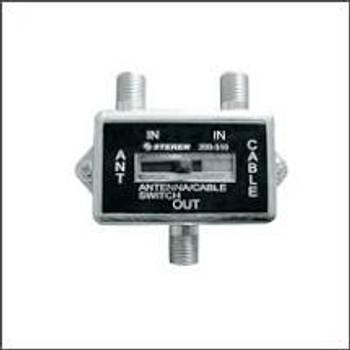 2-Way Coaxial A/B Slide Switch