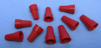 Twist-On Connector Red 18-10AWG