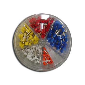 22-14 AWG Insulated Wire Ferrule Assortment Pack, 22, 20, 18, 16, and 14 AWG
