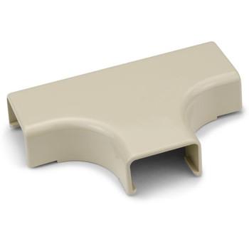 "Tee Cover, 1-1/4"", 1"" Bend Radius, PVC, Ivory"