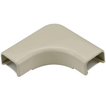 """Elbow Cover, 3/4"""", 1"""" Bend Radius, PVC, Ivory"""