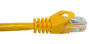 Vertical Cable 092-587/1YL 1' Cat 5e Cable - YELLOW