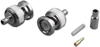 BNC For RG-174/U 3-pc Crimp Plug