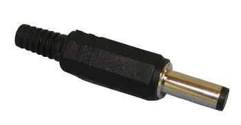 Coaxial Power Plug 2.5x5.5mm Long DC