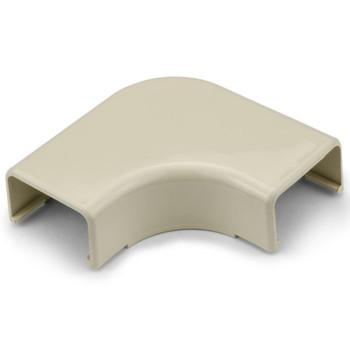 """Elbow Cover, 1-1/4"""", 1"""" Bend Radius, PVC, Ivory"""