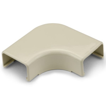 "Elbow Cover, 1-1/4"", 1"" Bend Radius, PVC, Ivory"