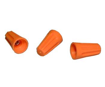 Twist-On Connector, Orange 18-16AWG