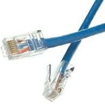 Cat5e Non-booted Patch Cable Blue 2 ft