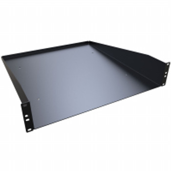 "2U Cantilever Solid Shelf - 20"" Deep - 100 lbs Rated"