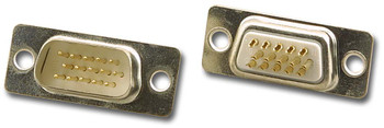 15 Pin Hi-Density D-Sub Male Solder Type Connector