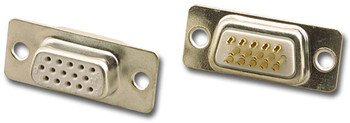 15 Pin Hi-Density D-Sub Female Solder Type Connector