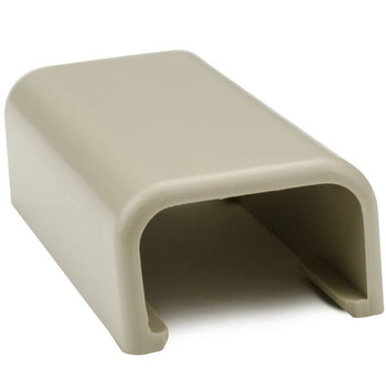 """Splice Cover, 3/4"""", PVC, Ivory"""
