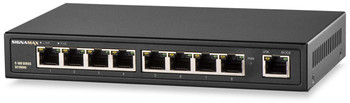 Signamax SC10090 8 Port Fast Ethernet PoE+ Switch