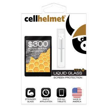 Cellhelmet Liquid Glass Pro+ for Tablets - Includes $300 Gaurantee