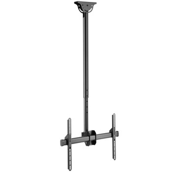 "Ceiling Mount TV Bracket with Tilt / Swivel and Adjustable Height for 37-70"" Screens"