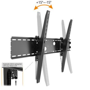"Tilting TV Wall Mount Bracket for 60-100"" Screens"