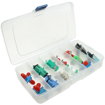 26 piece Fiber Optic Adapter Kit