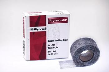 PlyBraid Copper Shielding Tape
