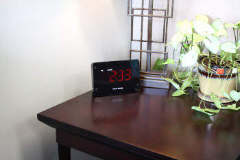 4K Night Vision Clock Radio Hidden Camera and DVR