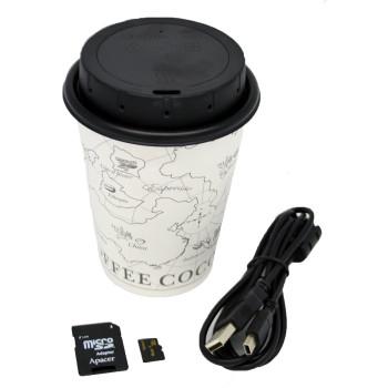 WiFi Coffee Cup Lid DVR