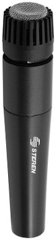 Professional Microphone Unidirectional Black