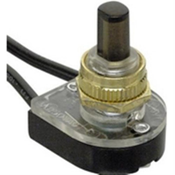 SPST, ON-OFF, Pushbutton Appliance Switch