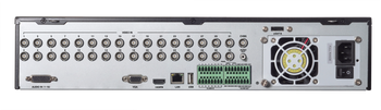 32-Channel (+8 IPC) 5MP H.265 Titanium 5-IN-1 Hybrid DVR