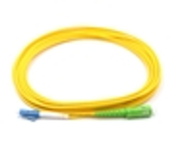 1M, LC to SC/APC, Simplex, Singlemode Patch Cable