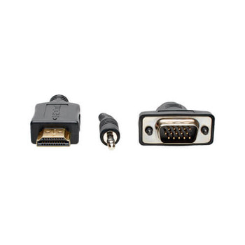HDMI to VGA Active Adapter Converter with Audio 6' Cable