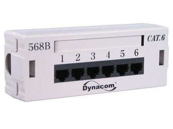 6-Port Cat6 Patch Box