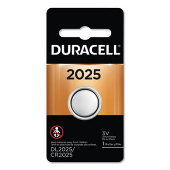 Duracell DL2025 3V Button Cell Lithium Battery
