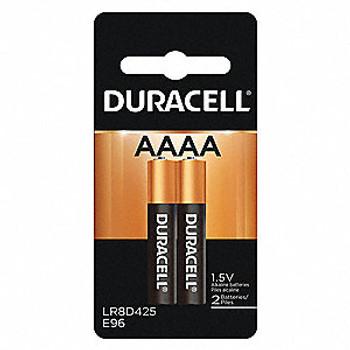 Duracell AAAA Alkaline Battery - 1.5VDC, 2/pkg.
