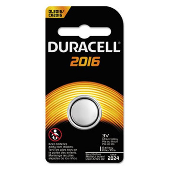 Duracell 2016 3V Button Cell Lithium Battery