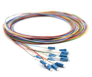 LC 12-Fiber Pigtail Kit, OM4, 3 Meter