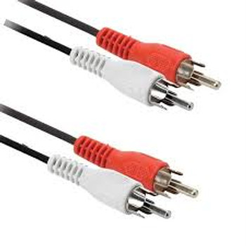 15ft 2-RCA Plugs to 2-RCA Plugs